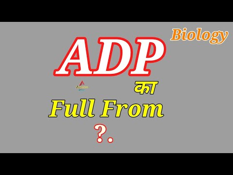 ADP Full from ?, What is ADP,