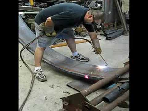 Bending Channel Iron