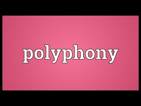 Polyphony Meaning