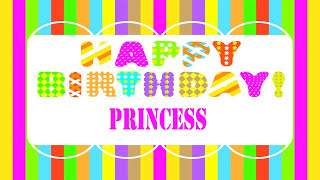 Princess   Wishes & Mensajes - Happy Birthday