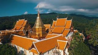 มุมโดรน(เครื่องบินบังคับ)ติดกล้องทั่วไทย - A Drone in Thailand - 4K