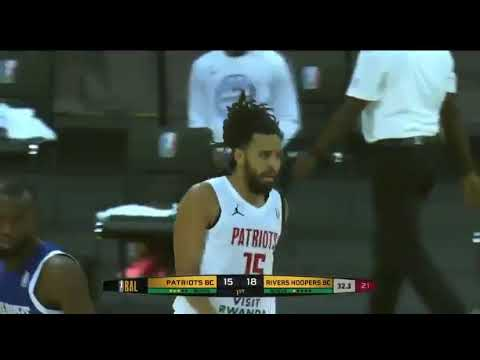 Rapper J. Cole makes his debut in African basketball league the ...