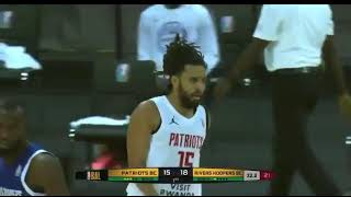 J. Cole's first points in the Basketball Africa League