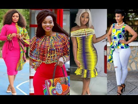 African Wear Styles for Ladies: Latest African Print Dresses for Women in #2019