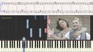 IOWA - Простая песня (Ноты для фортепиано) (piano cover)