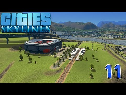 Stadium! - More Housing! - (Cities Skylines) #11