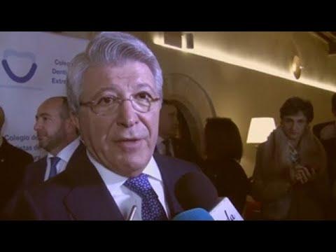 """Cerezo estaría """"muy orgulloso"""" de prestar el Metropolitano para la final de Copa"""