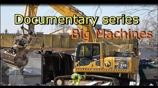 Volvo 210B Excavator Documentary series Part 1-Big Machines