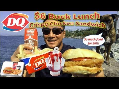 Dairy Queen 6 Buck Lunch Crispy Chicken Sandwich