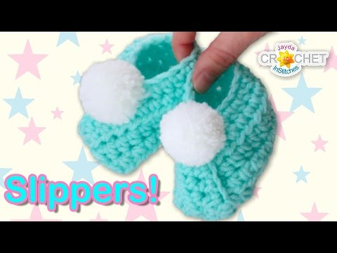Classic Wrap-Style Baby Slippers – Crochet Pattern