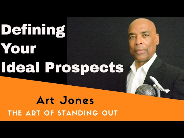 Defining your ideal prospect