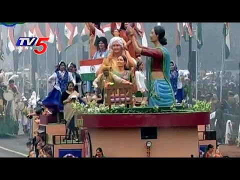 68th Republic Day Parade in Rajpath: All Indian States Tableau Highlights | Delhi | TV5 News