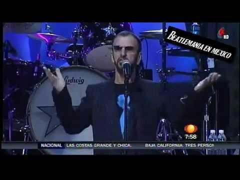 Televisa espectaculos ringo starr youtube for Espectaculos televisa recientes