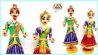 Best out of waste bottle   Cute Tanjavur dolls   DIY Home Decor   diy craft ideas/dasara dolls idea/