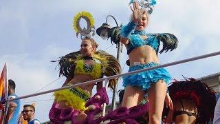 Repeat youtube video Goa Carnival 2017 - Panaji Floats Part 1