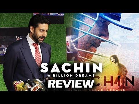 Sachin A Billion Dreams REVIEW By Abhishek Bachchan