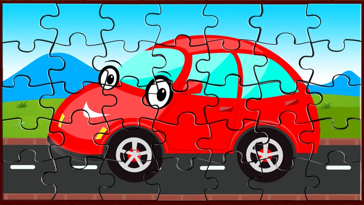 car puzzle game puzzles for kids street vehicle