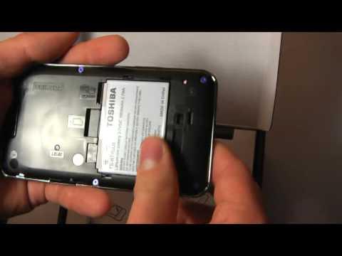 Unboxing Toshiba TG01