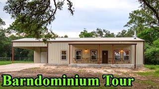 3 Bedroom, 1.5 Bath, 1,500 Sq. Ft. Barndominium Tour  245  - E52 S3