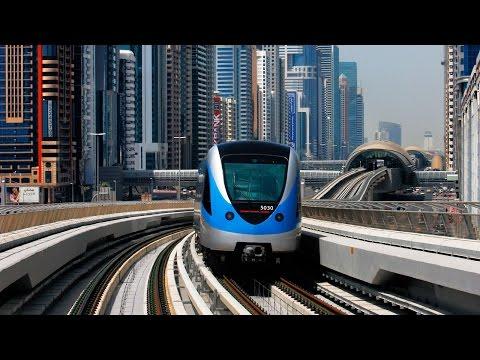 Dubai Metro - A Smooth Drive