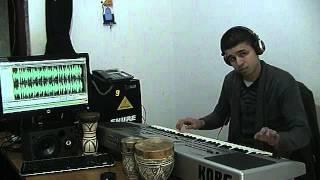 Gihad Karam 2014 instrumental chaabi marsawi nachat cha3bi Korg Pa80 (démo carte flash)