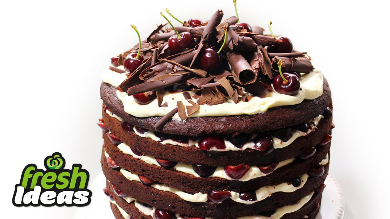 Woolworths Chocolate Cake Recipe