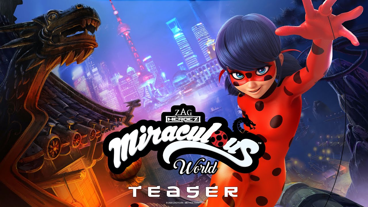 Download MIRACULOUS WORLD | ⭐ SHANGHAI - TEASER 🐲 | The Legend of Ladydragon