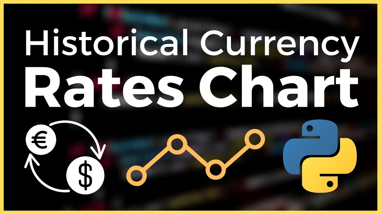 Get Historical Currency Exchange Rates for Any Currency in Python (Tutorial)