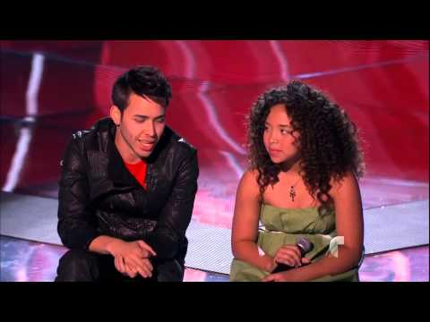 "Paola Guanche: ""Turning Tables"" en La Voz Kids"