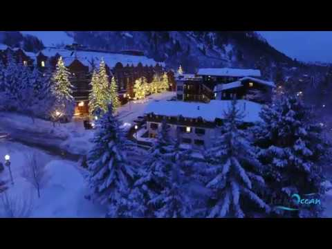 Phantom 4 Aspen Colorado Landscape 4K Drone Flight Winter 2017