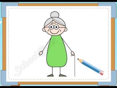 BÉ HỌA SĨ - Thực hành tập vẽ 111: Vẽ bà