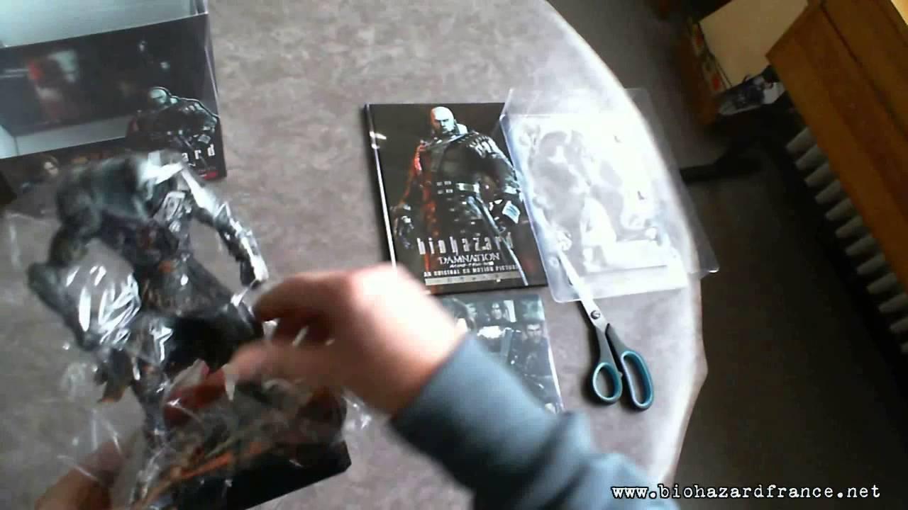 Resident Evil Biohazard Damnation Super Tyrant Box Unboxing Youtube