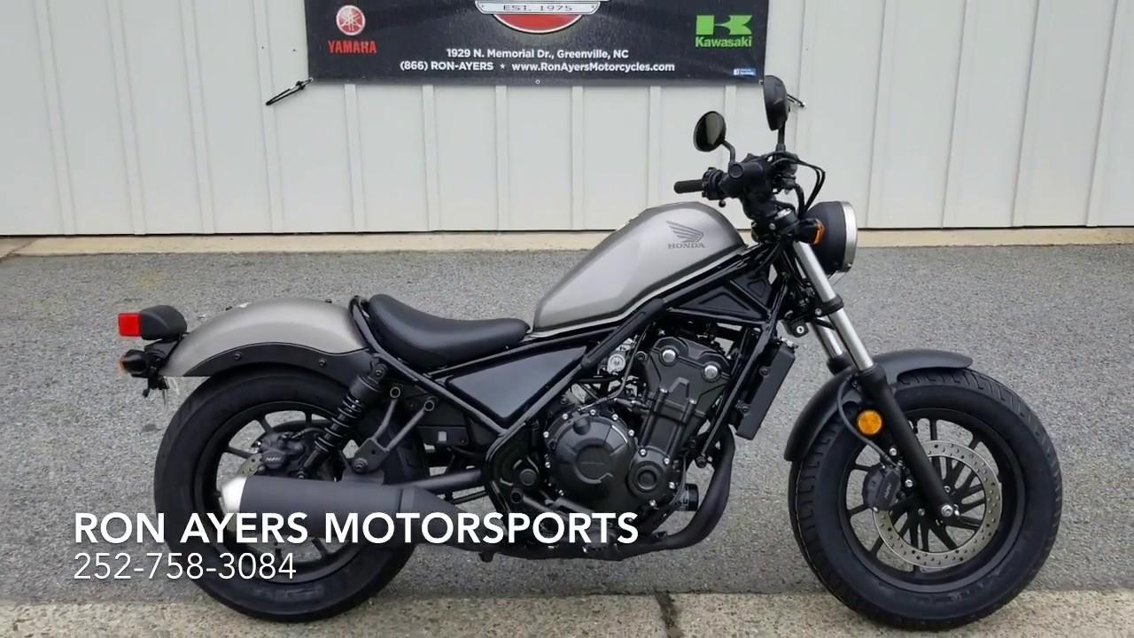 HONDA REBEL 500 2018 500 cm3 | moto custom | 9 500 km
