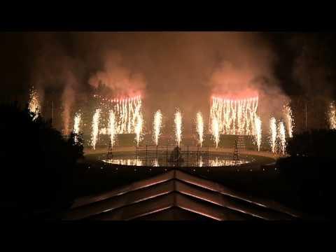 fêtes et feux -  Paris, Musée Rodin