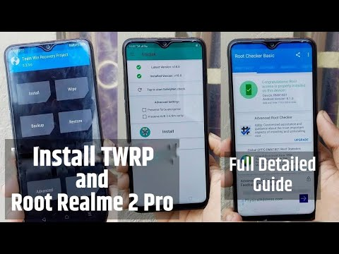 Install TWRP and Root Realme 2 Pro : Step by Step Guide Easy Method