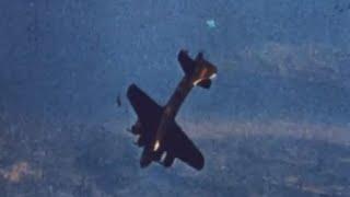Boeing B-17 Flying Fortress Crashing To Ground
