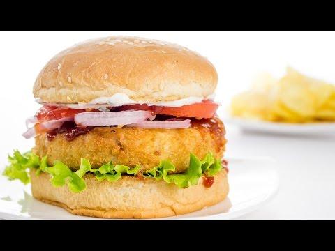 Easy way to make veggie burgers