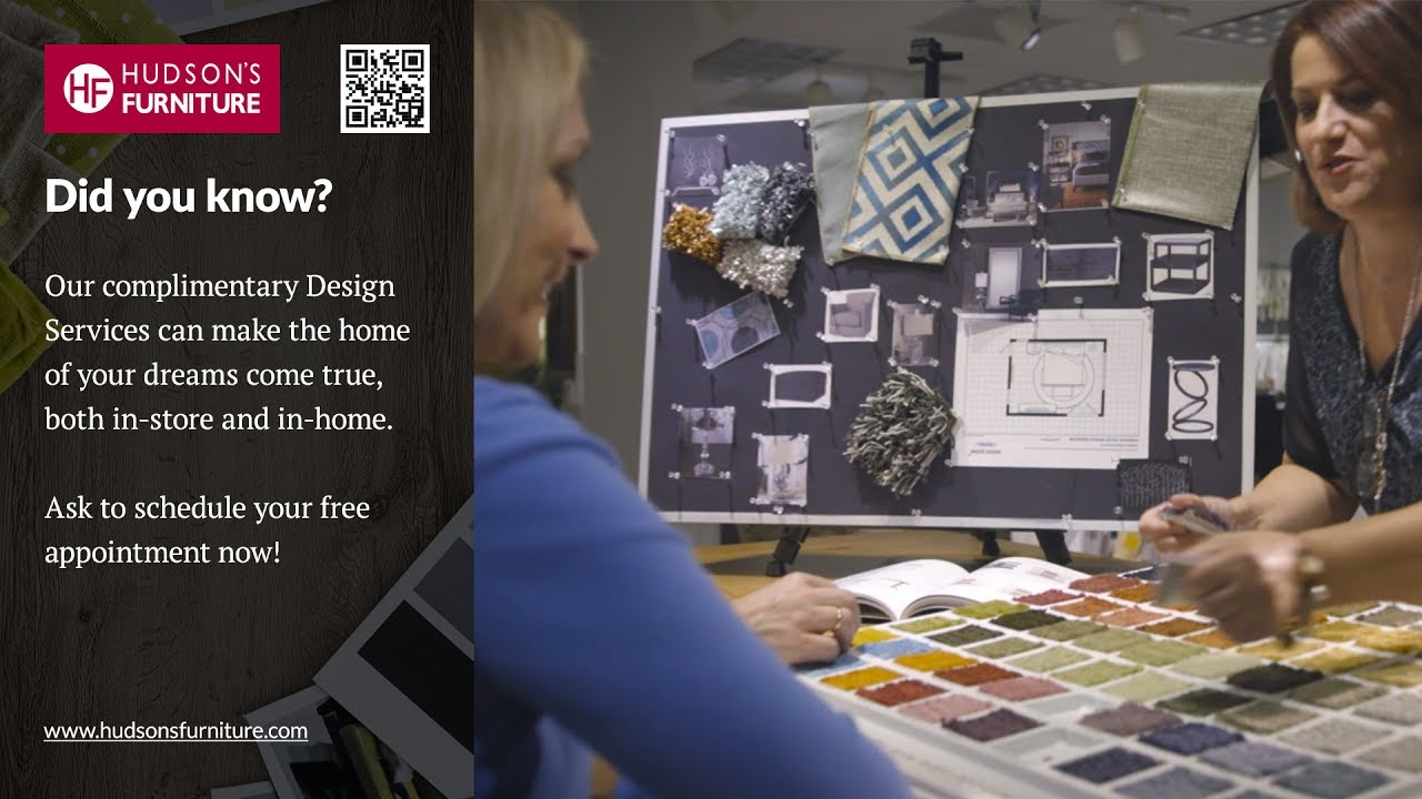 Enjoy Complimentary Design Services At Hudsonu0027s Furniture