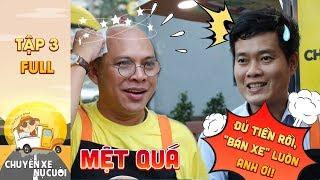 Chuyến xe nụ cười|Tập 3 Full: Color Man mệt rã rời, Khương Dừa đạt chỉ tiêu đòi bán luôn xe bánh mì?