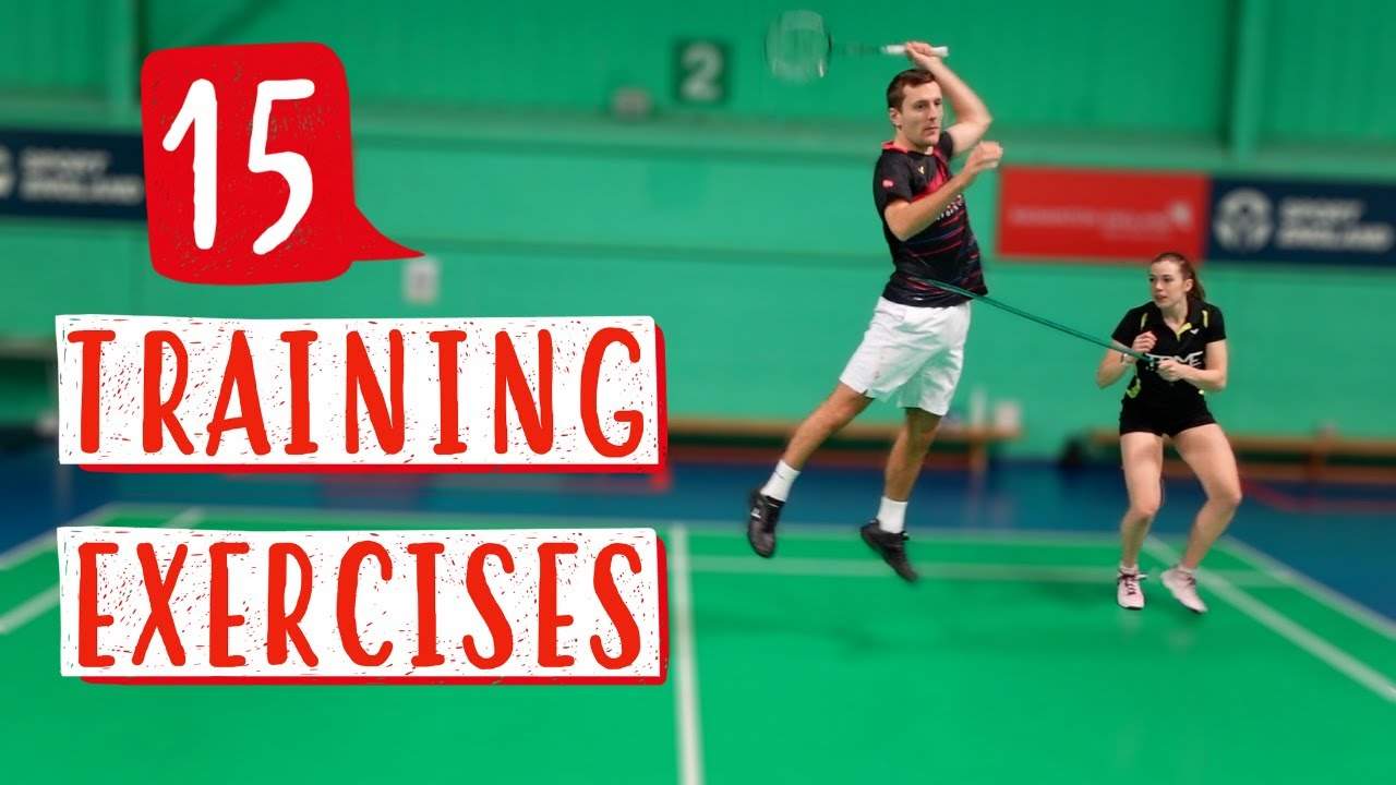 15 Badminton-Specific Exercises using a Theraband to improve Smash Power, Speed & Movement ?