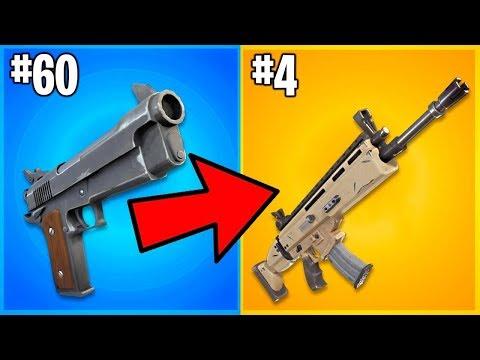 Top 9 PEORES Armas De Fortnite Que Han EXISTIDO!!!