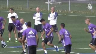 """тренировки вратарей: """"Реал Мадрида"""" l Goalkeeper Real Madrid training"""