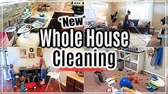 WHOLE HOUSE CLEANING 2019 | EXTREME CLEANING MOTIVATION | ALL DAY CLEAN WITH ME | SAHM