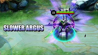 SLOW BUT HITS HARDER - ARE YOU READY FOR THE REVAMPED ARGUS? - MOBILE LEGENDS
