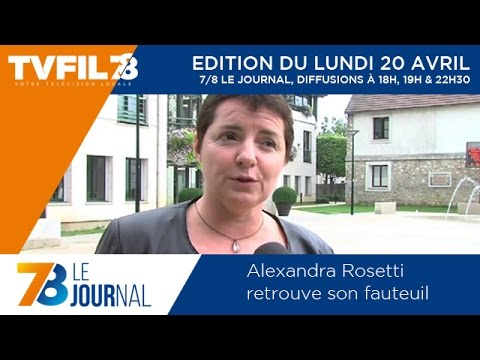 7/8 Le Journal – Edition du lundi 20 avril 2015