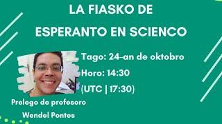 La fiasko de Esperanto en scienco