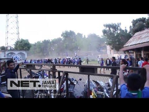 Razia berujung tawuran antar suporter PSIS Semarang - OPERASI MANDALI #44