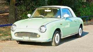 1991 Nissan Figaro Turbo (Canada Import) Japan Auction Purchase Review