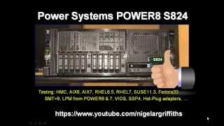 POWER8 S824 Quick Look Around