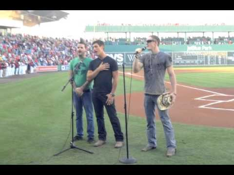 National Anthem 3-Part Harmony at Red Sox v. Yankees Game by Grayson Rogers